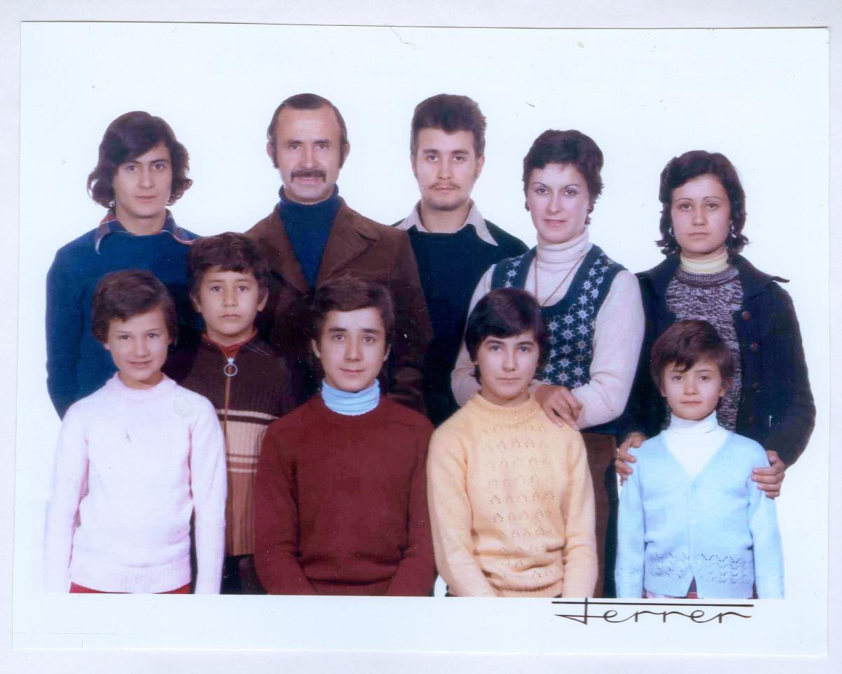 Foto familiar, 1972.