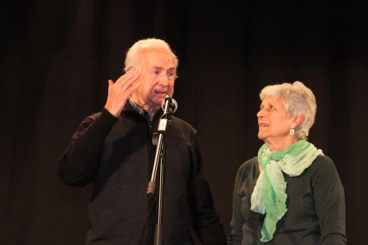 Homenatge a Ignasi Catalán i Montse Llopart, 2016.
